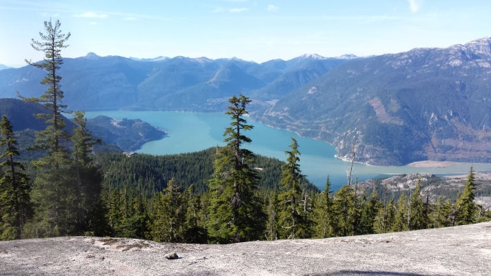 Al's Habrich Trail, Squamish, British Columbia