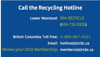 recycling hotline